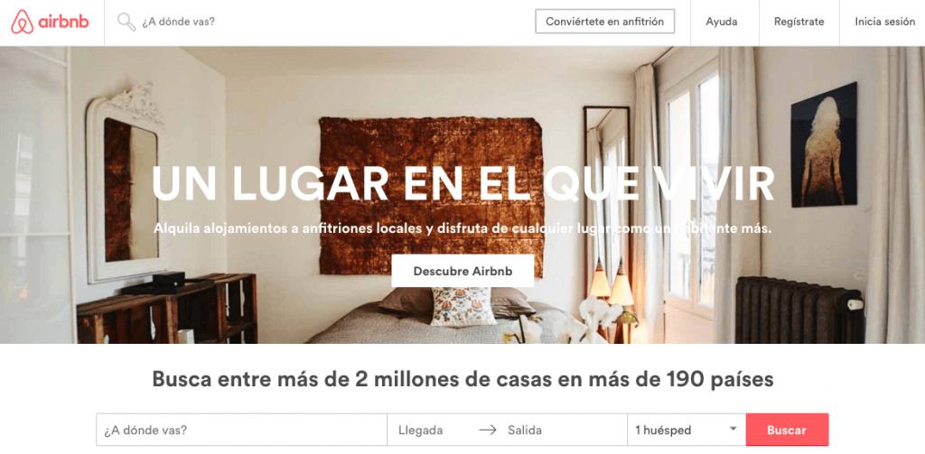 Airbnb - Alojamiento entre particulares