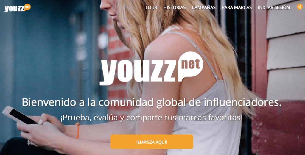 Probar productos gratis con Youzz