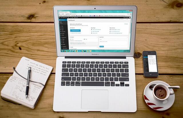 Trabajo desde casa - crea un blog