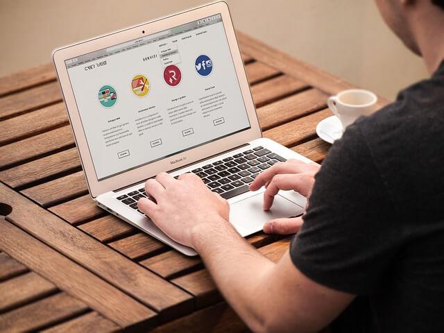 Trabajo desde casa - diseño web