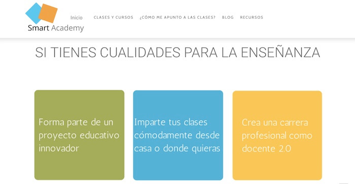 Dar clases particulares online