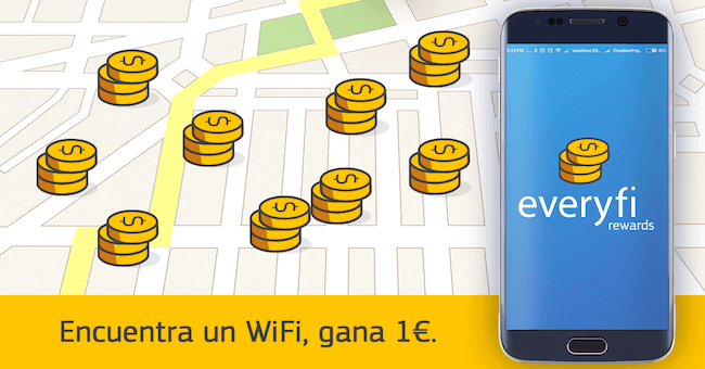 everyfi rewards app para ganar dinero